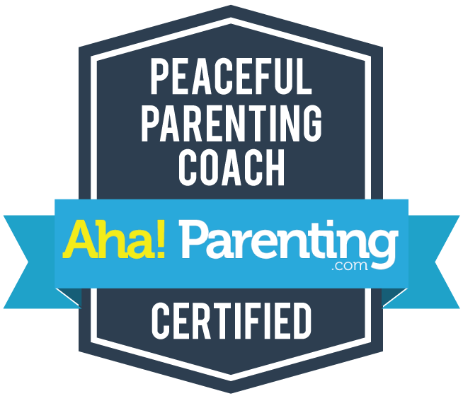 peaceful parenting coach aha!
